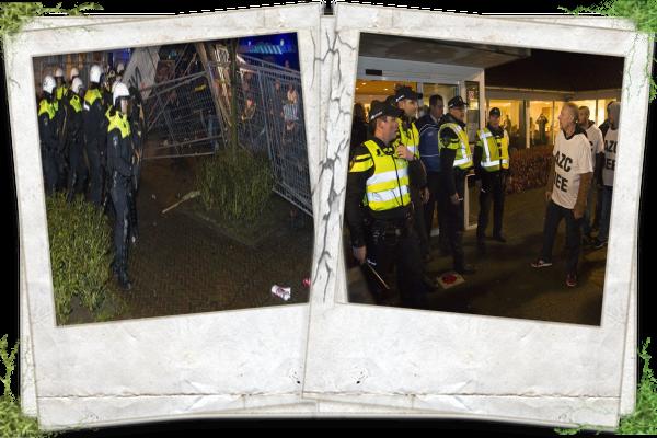 Geldermalsen, Netherlands, protesters, no to asylum centre